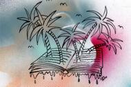 Illustration: Eine Buch-Oase