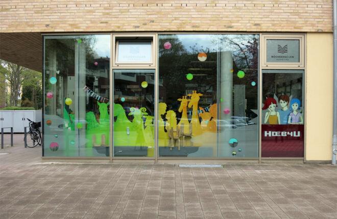 Kibi – der Bereich für Kinder in der Bücherhalle Dehnhaide