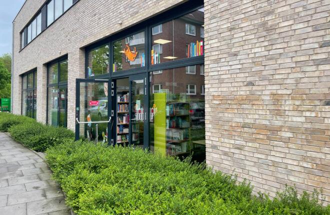 Innenansicht Bücherhalle Horn