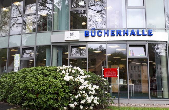 Aussenansicht Bücherhalle Rahlstedt
