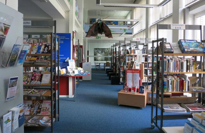 Innenansicht Bücherhalle Holstenstraße