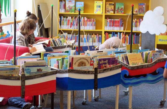 Kibi - der Bereich für Kinder in der Bücherhalle Neuallermöhe