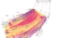 Illustration: Eine bunte Hängematte