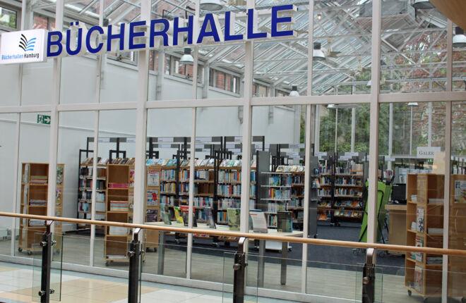 Innenansicht Bücherhalle Winterhude