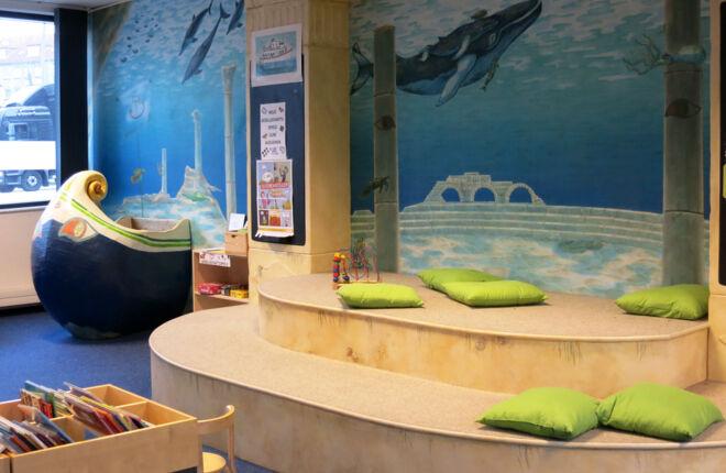 Kibi - der Bereich für Kinder in der Bücherhalle Wandsbek