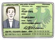 Grafik: Personalausweis