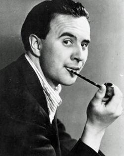 Porträtaufnahme von Wolfgang Borchert um 1940