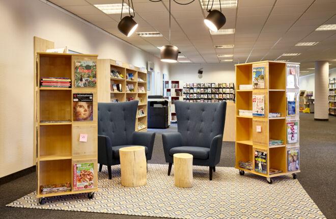 Innenansicht Bücherhalle Billstedt