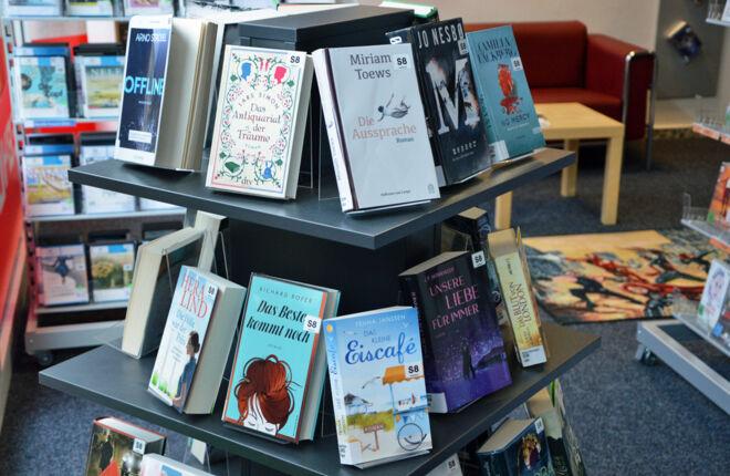 Innenansicht Bücherhalle Hohenhorst