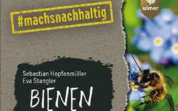 Buchcover: Biene sitzt auf einer Blüte