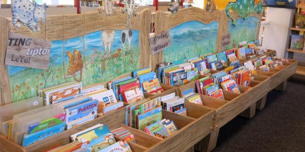 Bilderbücher in der Bücherhalle Eidelstedt