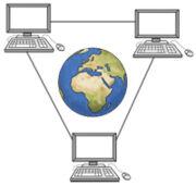 Grafik des World Wide Web