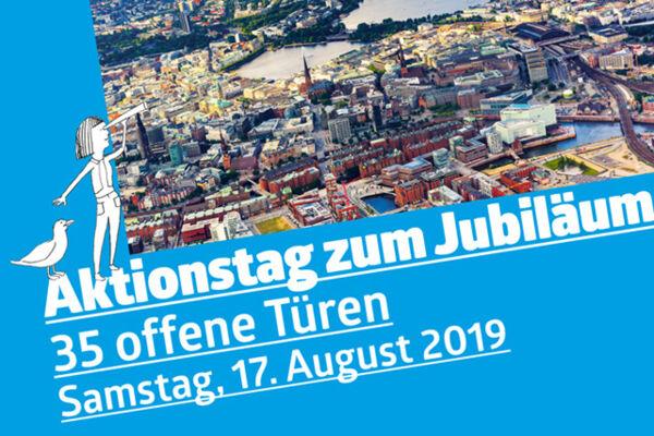 Hamburg-Bild und Ankündigung Aktionstag
