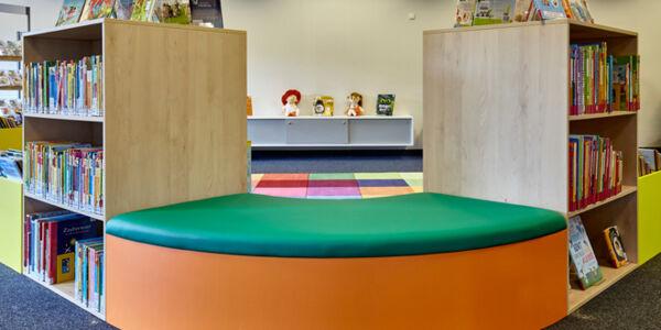 Kinderbereich in der Bücherhalle Billstedt