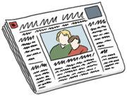 Grafik: Zeitung