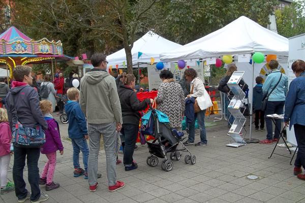Besucher des Bergedorfer Kindertags