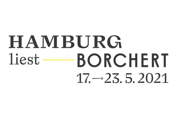 Logo: Hamburg liest Borchert