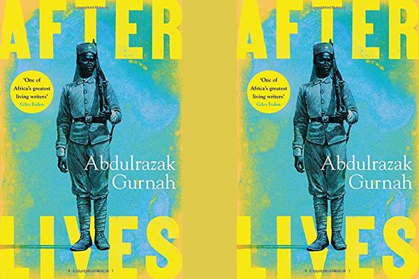 """Buchcover """"Afterlives"""""""