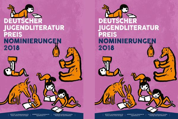 Deutshcer Jugendliteraturpreis - Logo
