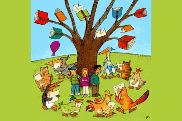 Illustration: Geschichtenbaum