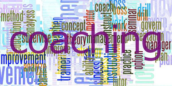 Bunte Grafik mit Begriffen zu Coaching © Pixabay
