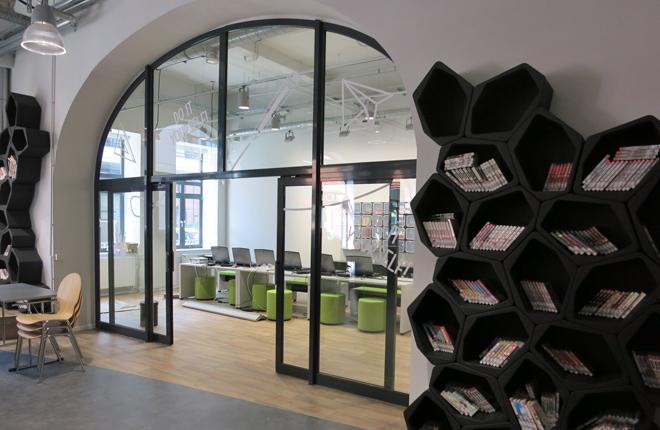 Hoeb4U-Jugendbibliothek am Hühnerposten