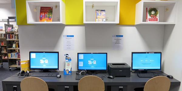 Kunden-PCs Bücherhalle Hohenhorst