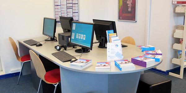 Kunden-PCs Bücherhalle Holstenstraße