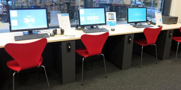 Kunden-PCs Bücherhalle Horn