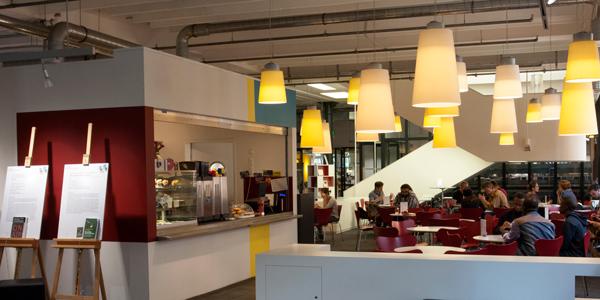 Café Libresso in der Zentralbibliohtek